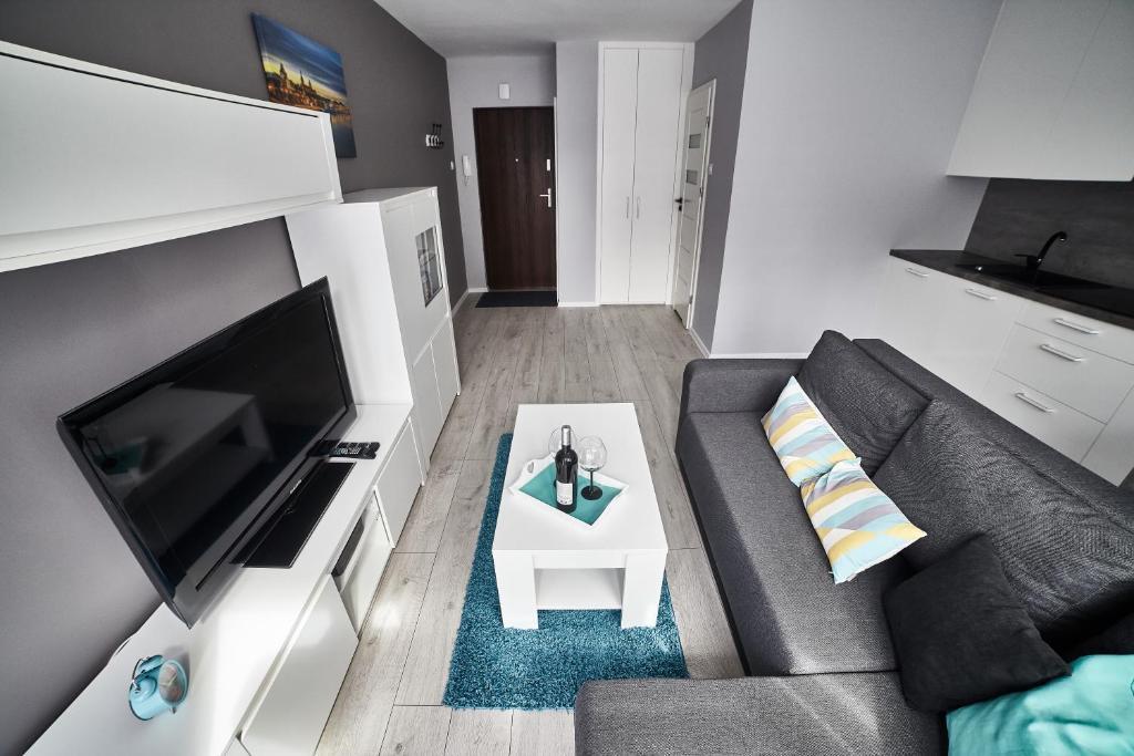 Szary Apartament Centrum Polska Szczecin Bookingcom