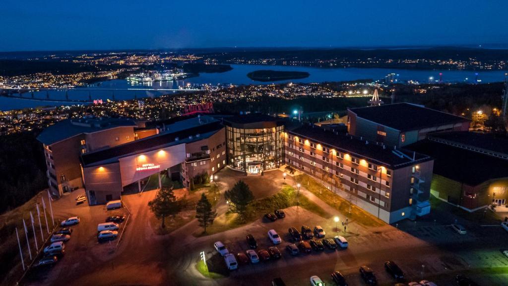 Hotell Södra Berget dari pandangan mata burung