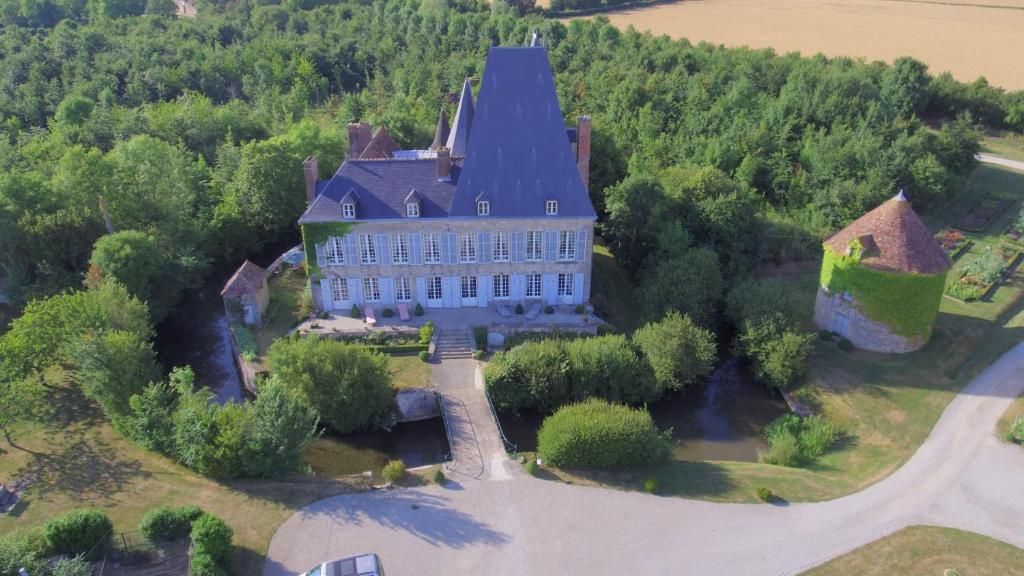 Vue panoramique sur l'établissement Château de Villiers