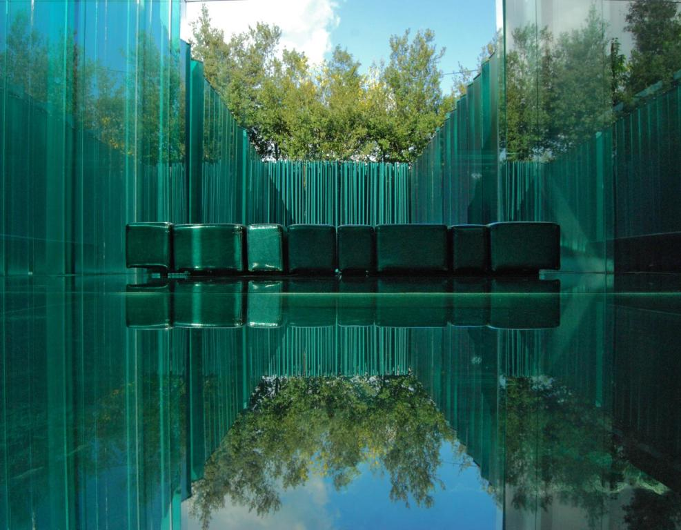 The swimming pool at or near Les Cols Pavellons