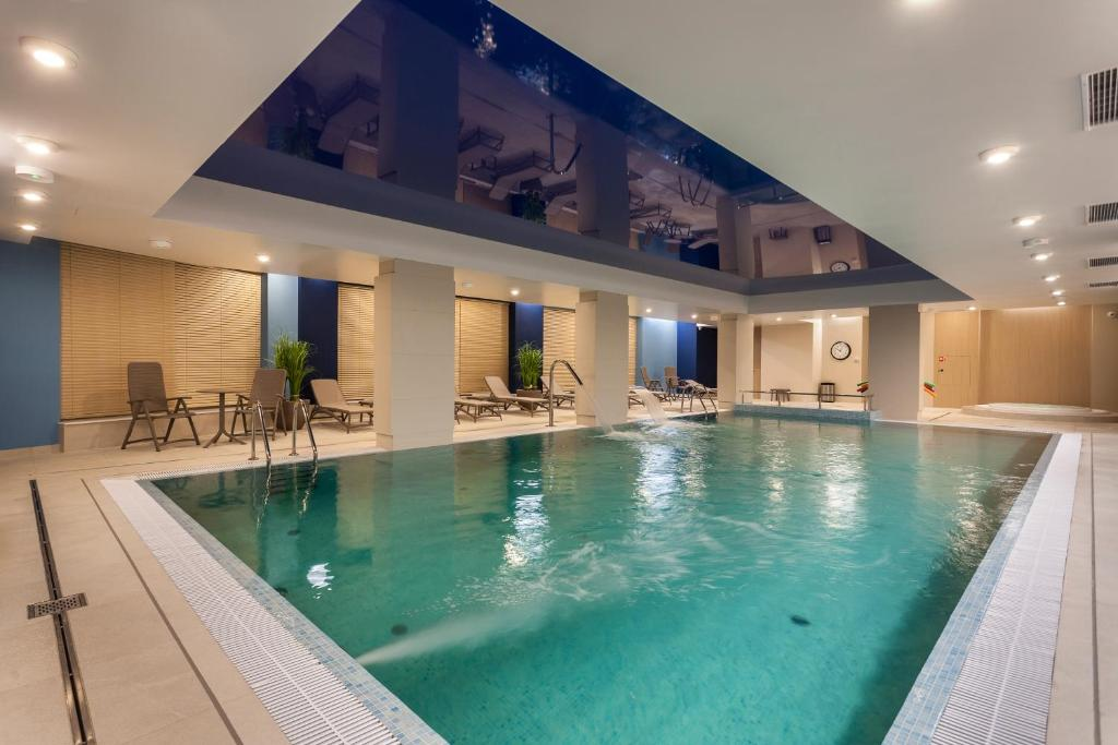 The swimming pool at or near Hotel Number One by Grano