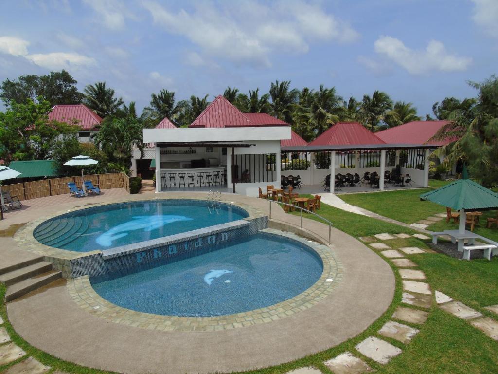 The swimming pool at or near Phaidon Beach Resort