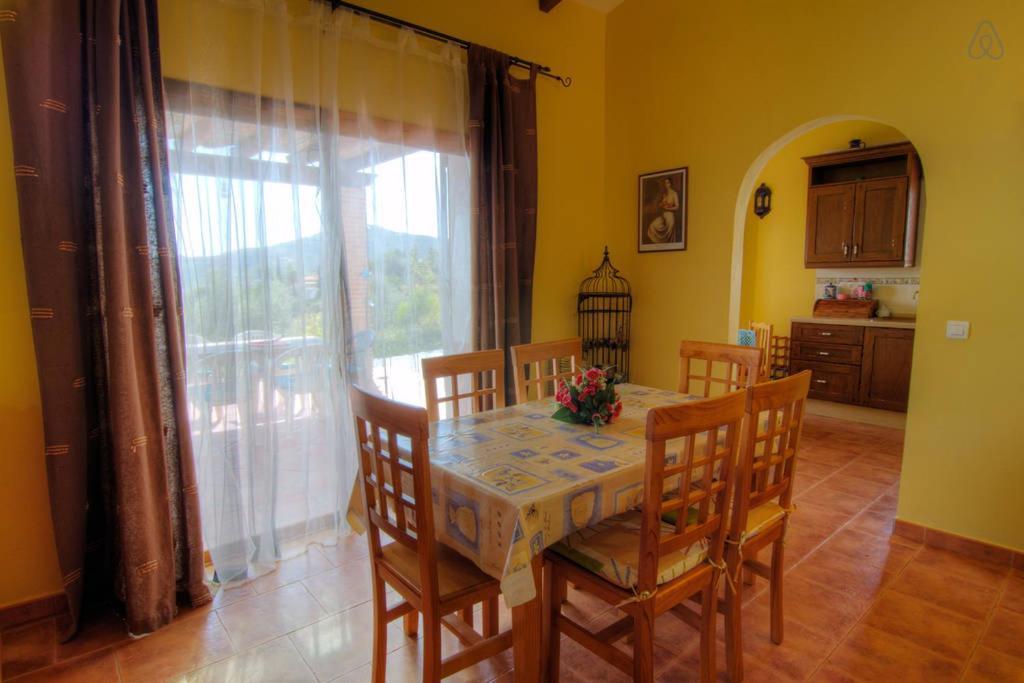 Casa de campo Casa Rafa (España Canillas de Albaida ...