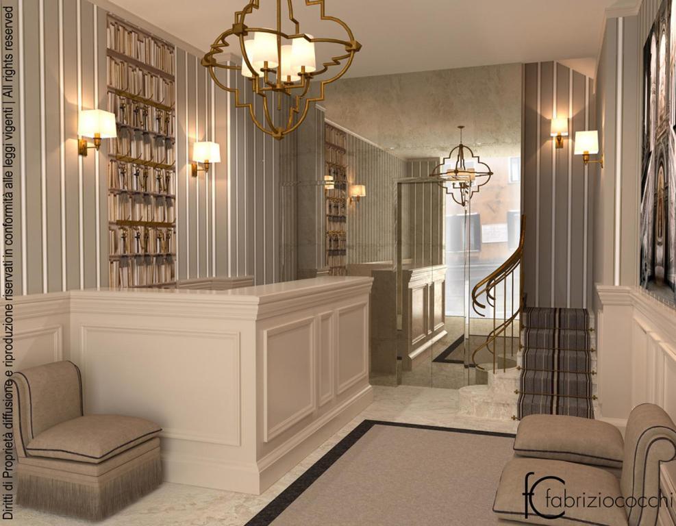 バルトロメオ ホテルのロビーまたはフロント