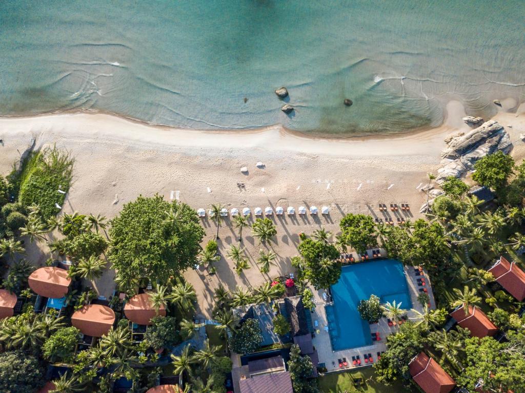 A bird's-eye view of New Star Beach Resort