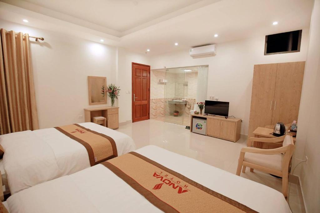 Phòng 2 Giường Đơn Có Bồn Tắm