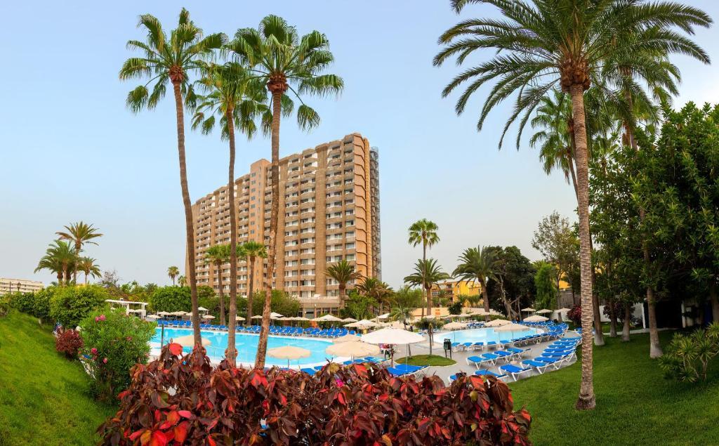 The swimming pool at or near Sol Arona Tenerife