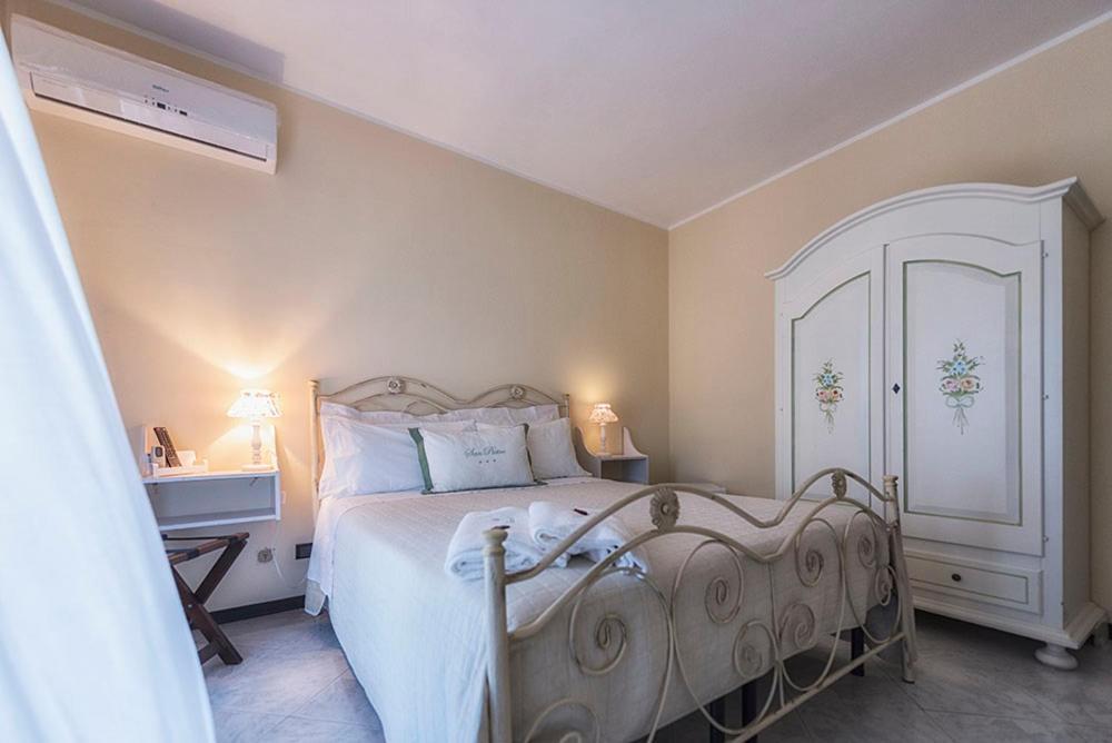 Een bed of bedden in een kamer bij San Pietro
