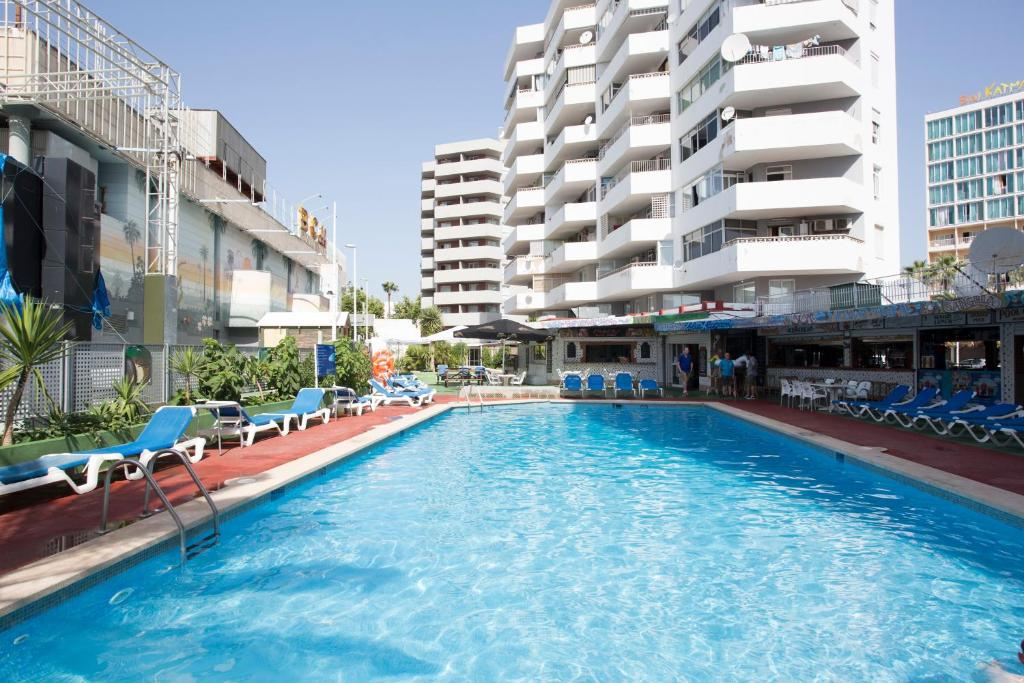 The swimming pool at or near Magalluf Playa Apartments - Adults Only