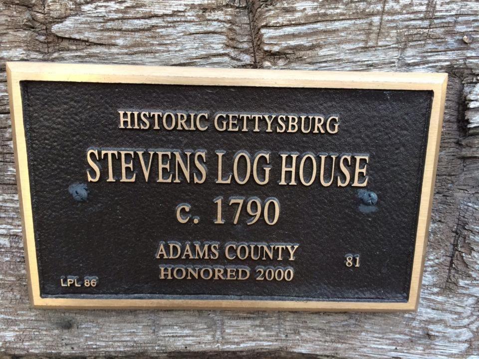 Vacation Home Thaddeus Stevens' Gettysburg Log Home, PA