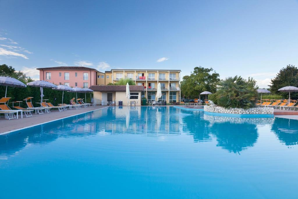 The swimming pool at or near Hotel Bella Lazise