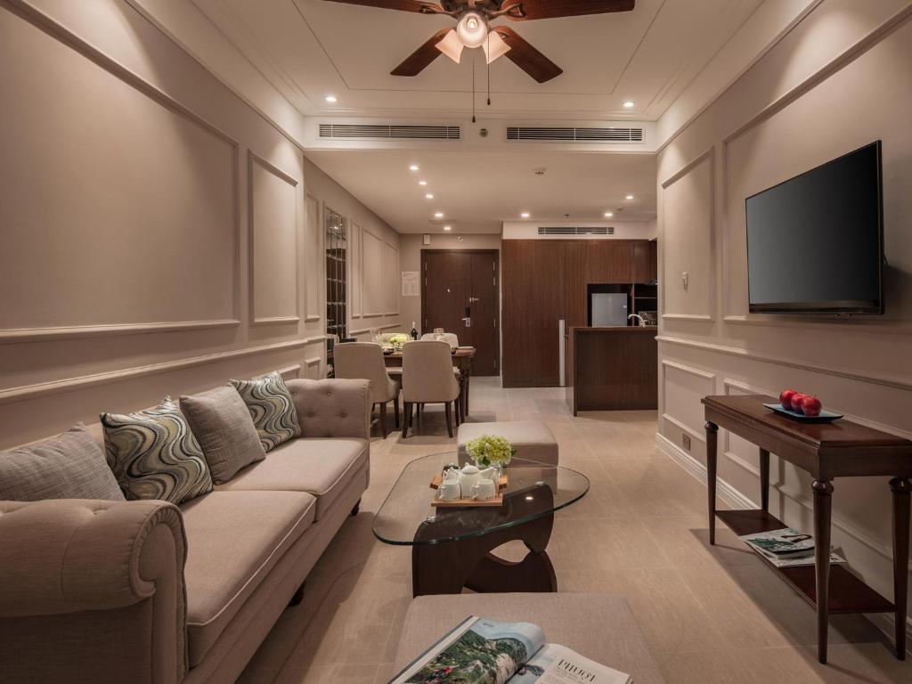 Suite Serenity 2 Phòng Ngủ Hướng Một Phần Biển