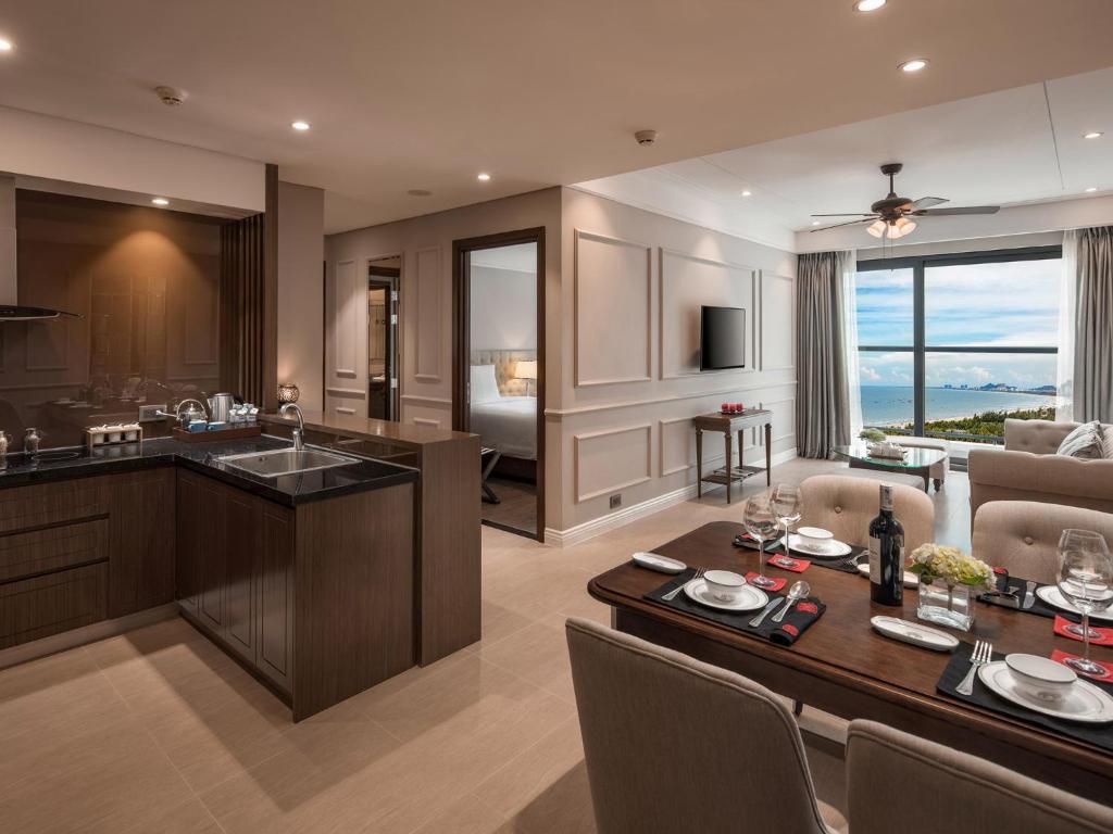 Suite Zen Có 2 Phòng Ngủ và Ban Công