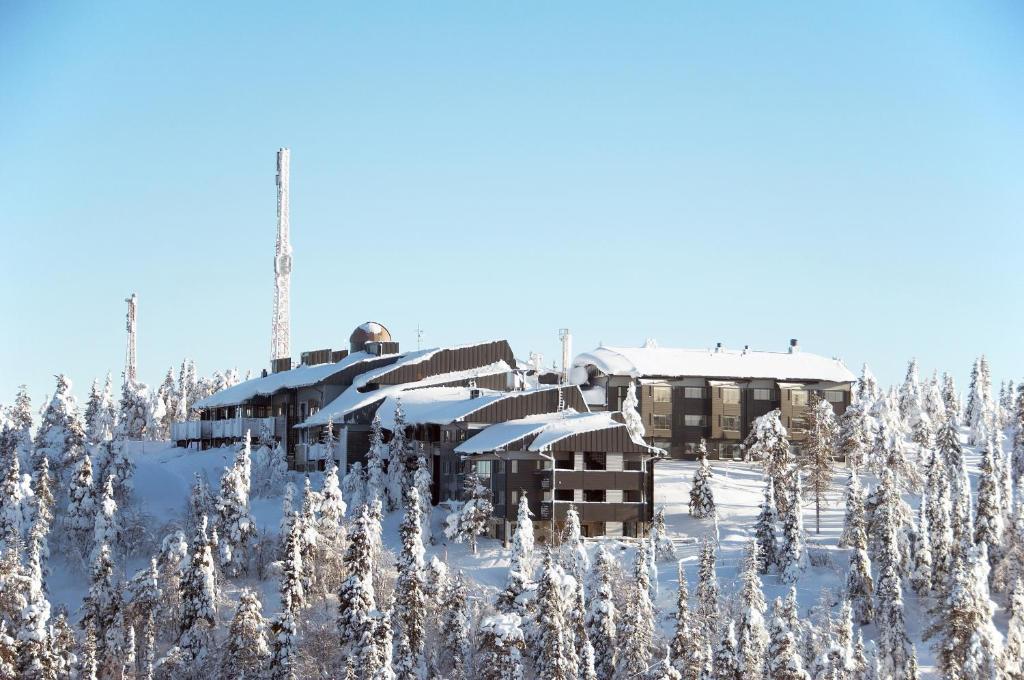 Hotelli Pikku-Syöte talvella