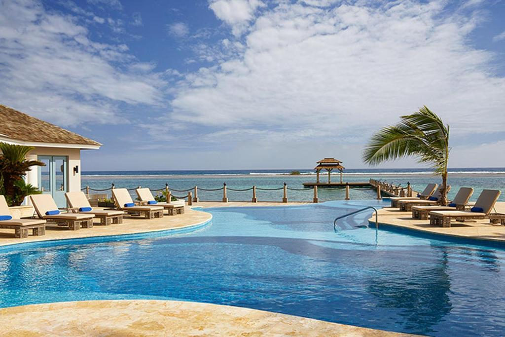 The swimming pool at or near Zoetry Montego Bay
