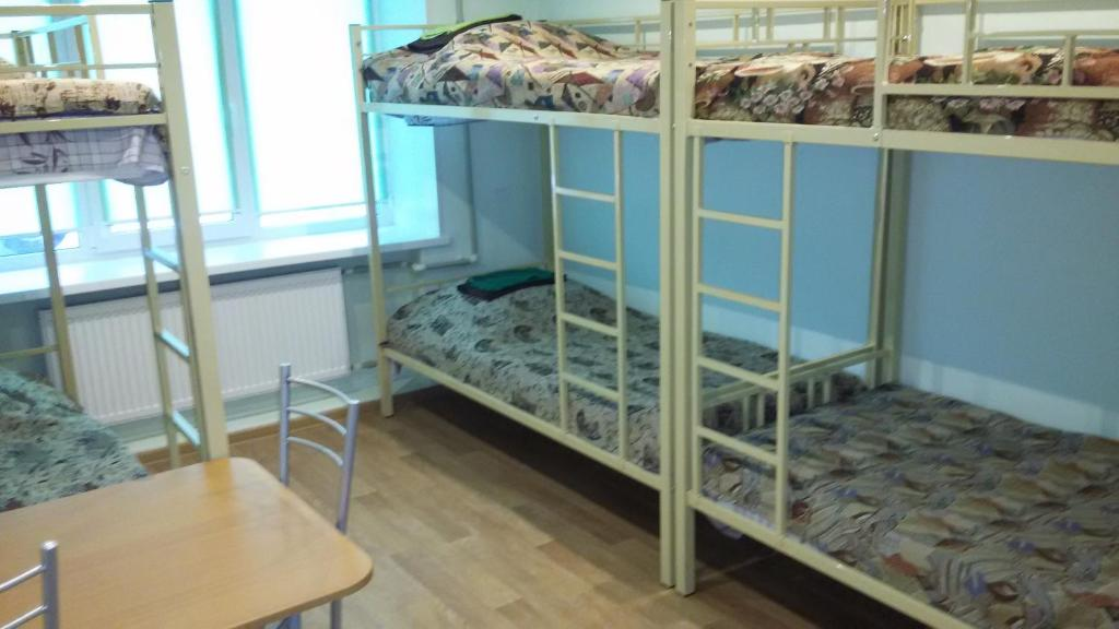 A bunk bed or bunk beds in a room at Hostel Teriba