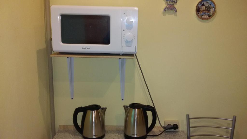 A kitchen or kitchenette at Hostel Teriba