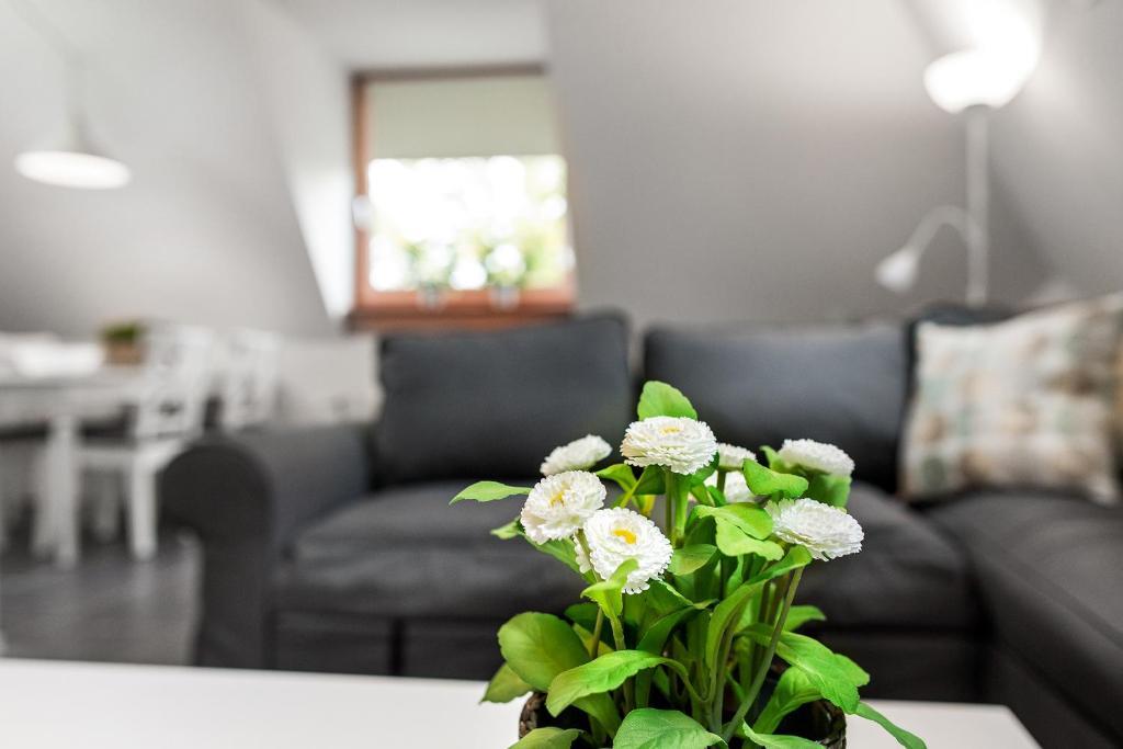 A seating area at Vakantieappartementen centrum Oudewater