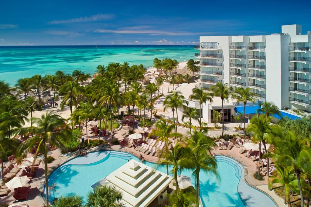 A view of the pool at Aruba Marriott Resort & Stellaris Casino or nearby