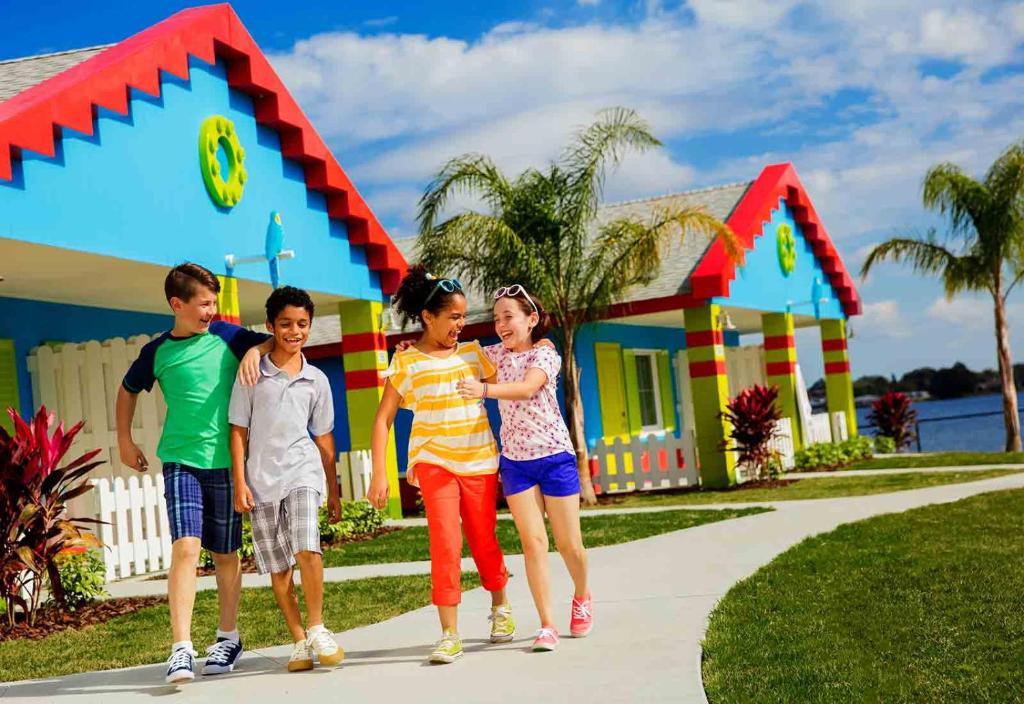 เด็ก ๆ ซึ่งเข้าพักที่ LEGOLAND® Florida Resort