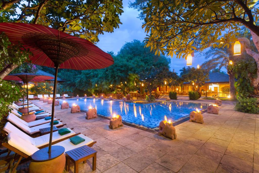 The swimming pool at or near The Hotel @ Tharabar Gate