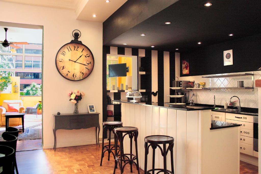 Cuina o zona de cuina de Casa Consell Apartments