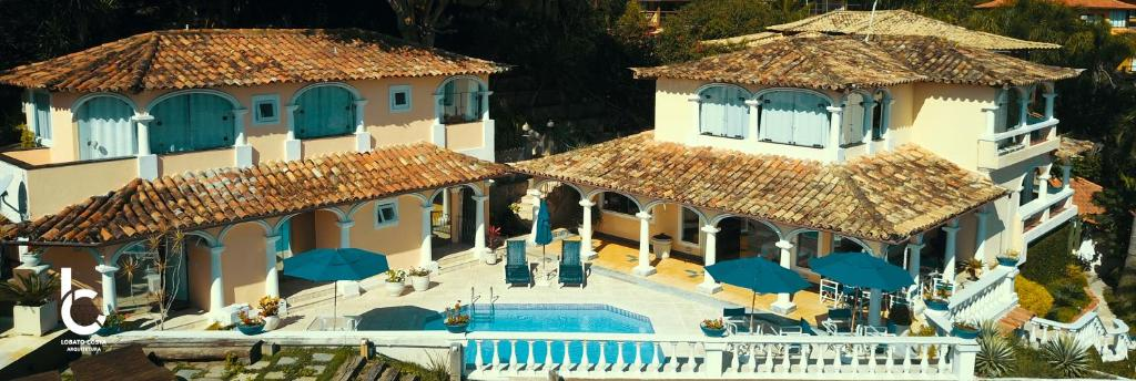 A view of the pool at Casagrande Hotel Boutique or nearby