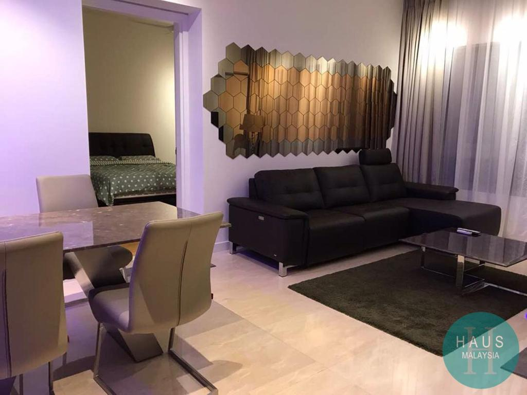 A seating area at HAUS The Sentral Residences @ KL Sentral