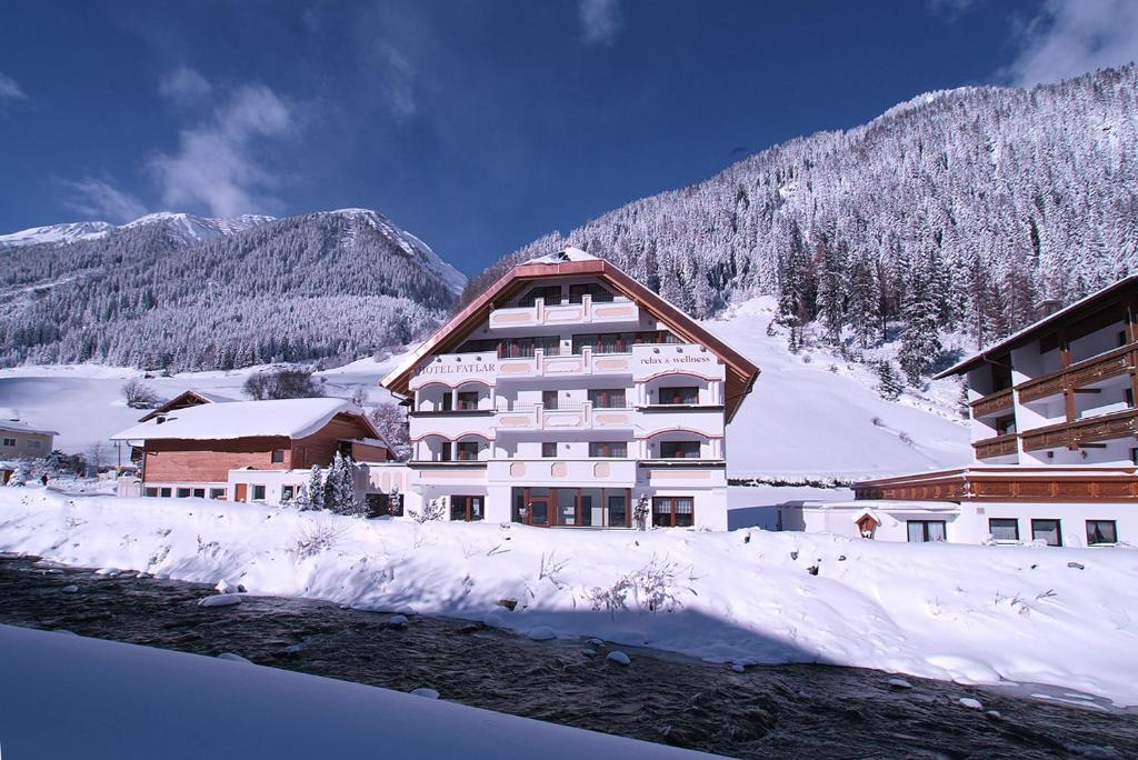 Hotel Fatlar during the winter