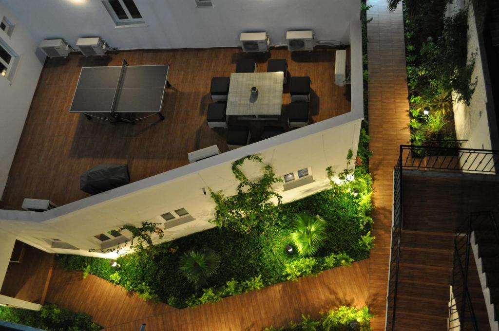 A bird's-eye view of Hotel Loisirs Mandji
