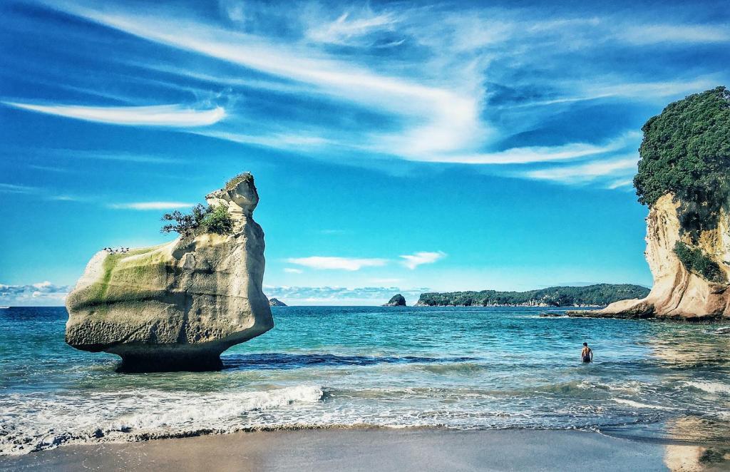 Ponga Eco Lodge Hahei New Zealand