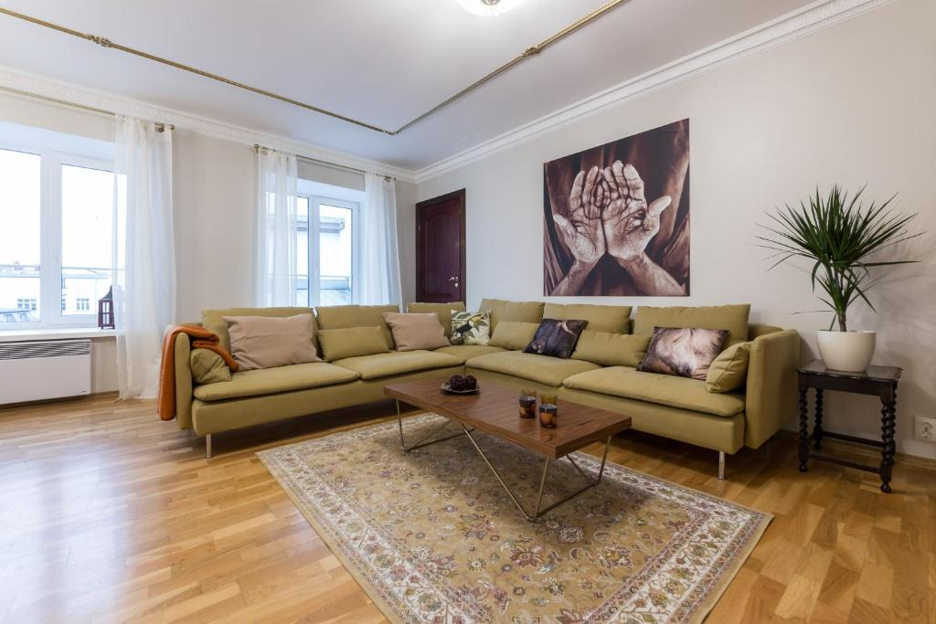 A seating area at Best Apartments - Viru