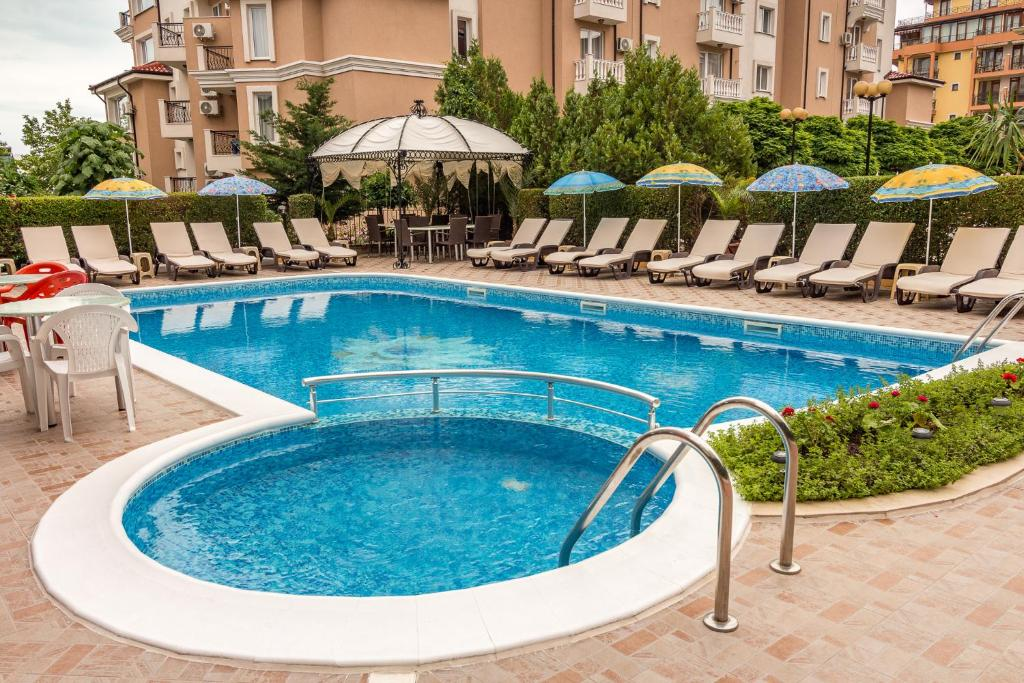The swimming pool at or near Family Hotel Venera