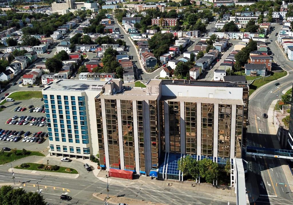 A bird's-eye view of Delta Hotels by Marriott St. John's Conference Centre