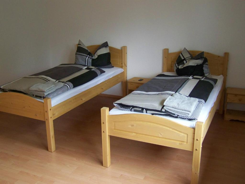 A bed or beds in a room at Hostel Wendt
