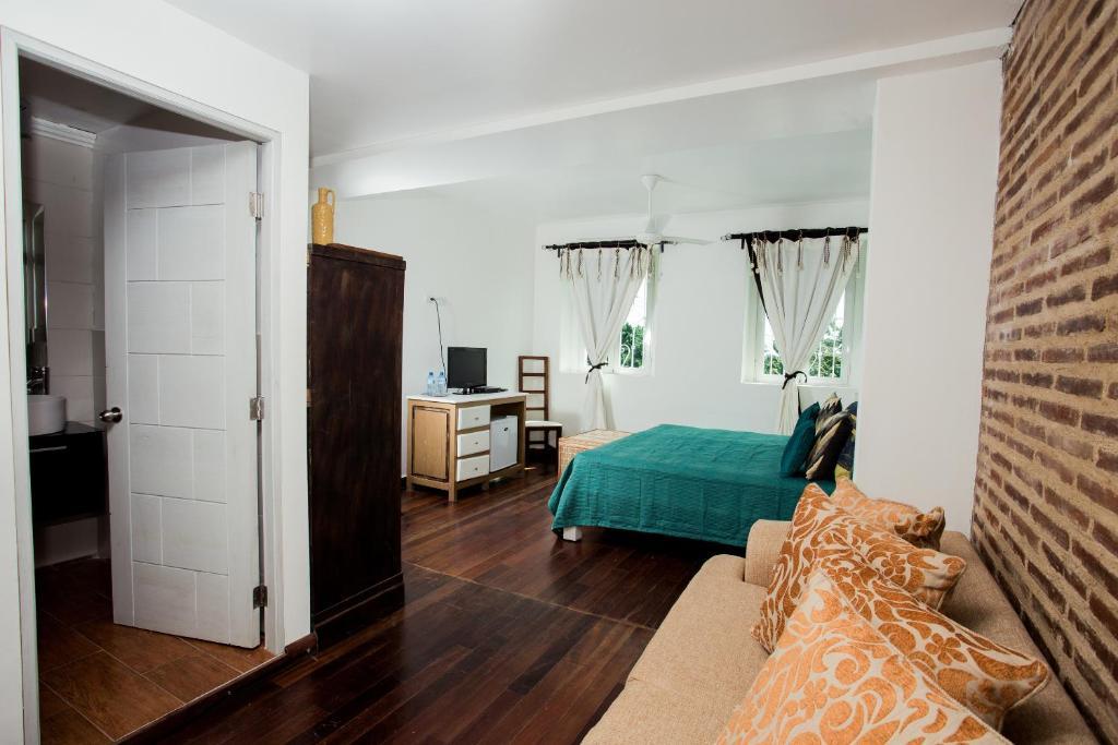 เตียงในห้องที่ Best value guesthouse