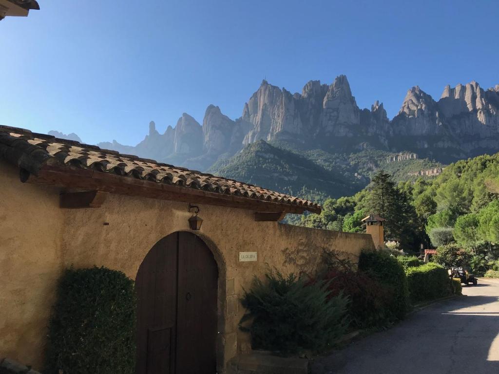 Casa de campo Montserrat La Calsina (España Monistrol ...