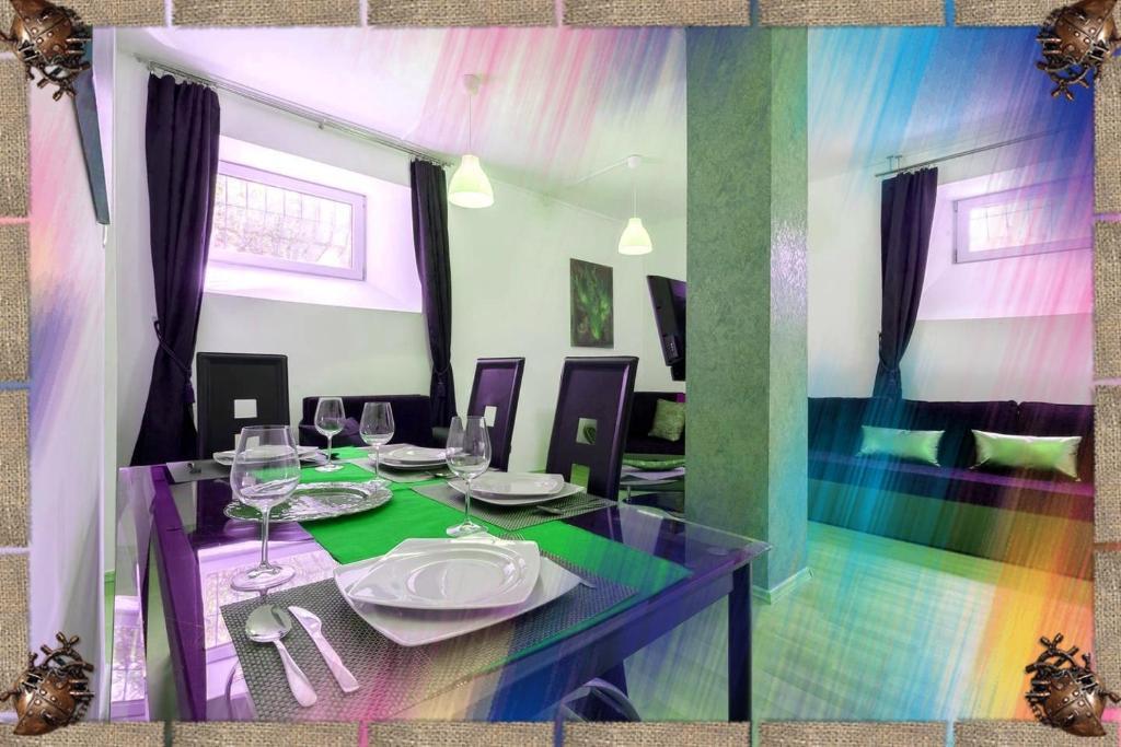 Nhà hàng/khu ăn uống khác tại Porat Apartments