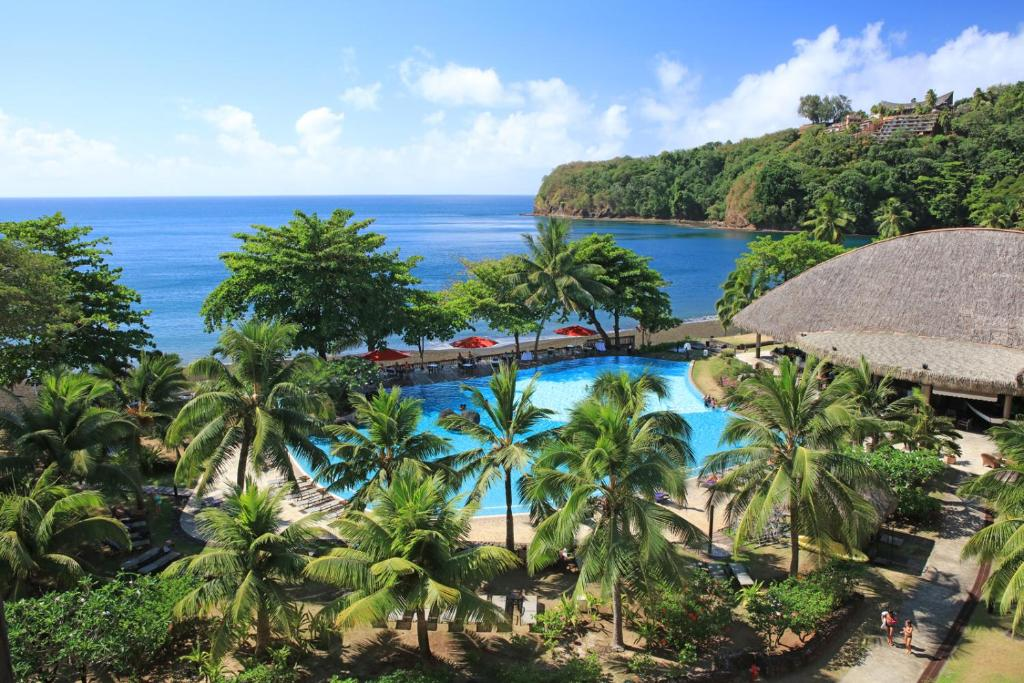 A view of the pool at Tahiti Pearl Beach Resort or nearby