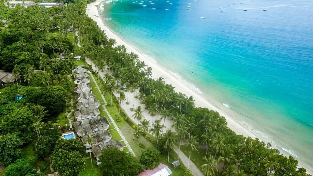 Letecký snímek ubytování Daluyon Beach and Mountain Resort