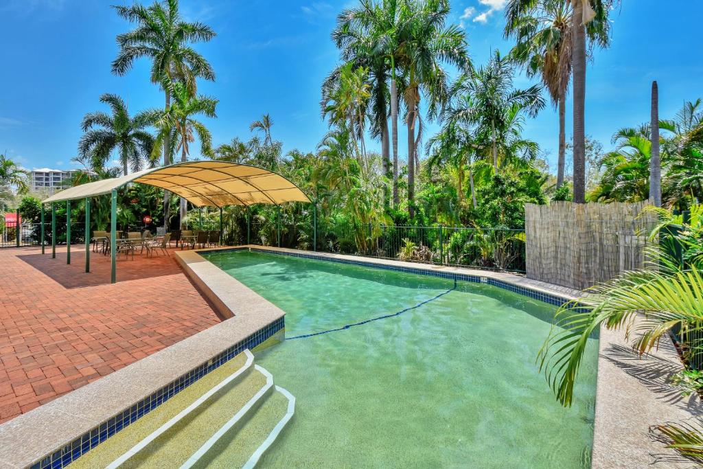 The swimming pool at or near Darwin City Edge Motel & Suites