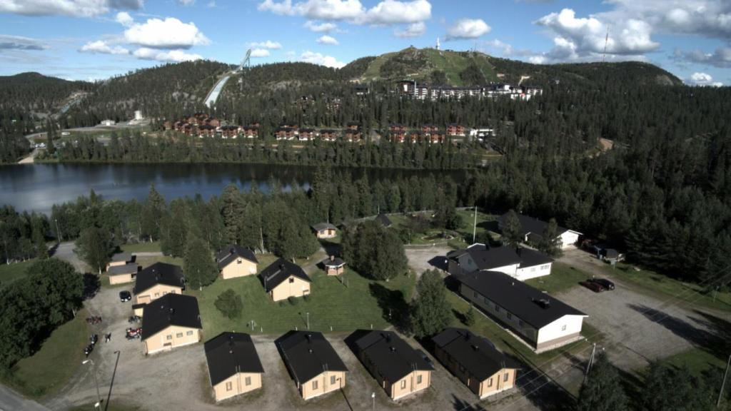 Apgyvendinimo įstaigos Matkailumaja Heikkala Cottages vaizdas iš viršaus