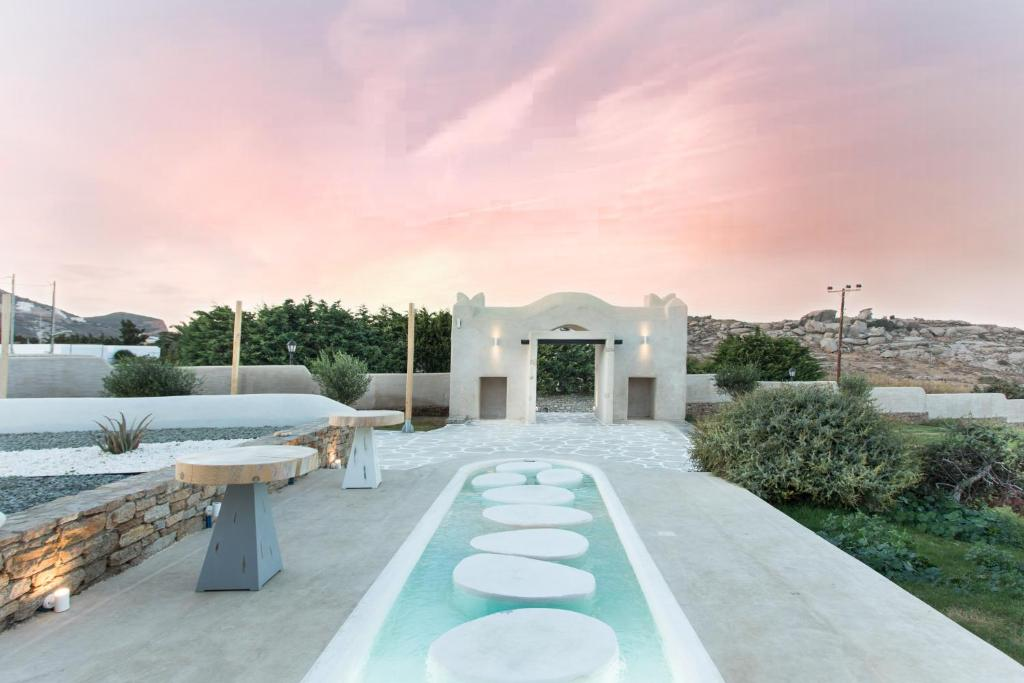 The swimming pool at or close to Naxos Euphoria Suites
