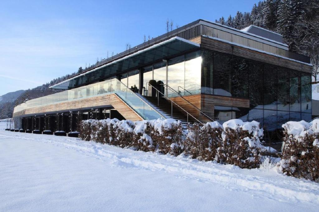 Landhotel Schönberghof & Gästehaus Enzinger during the winter