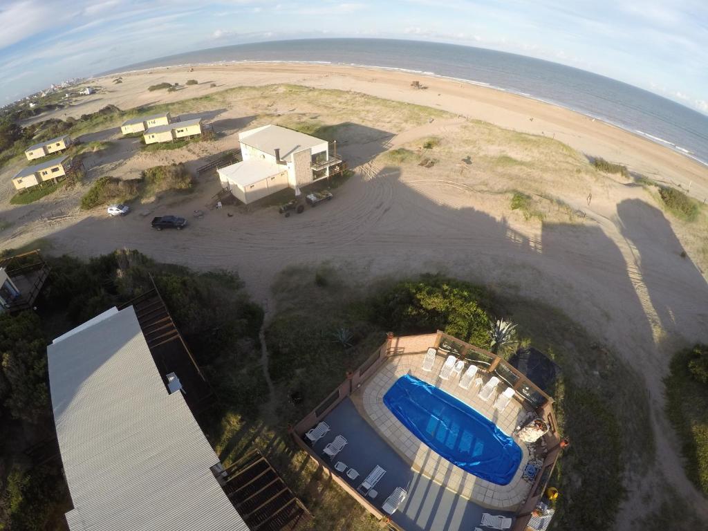 Una vista aérea de Marina de las Pampas