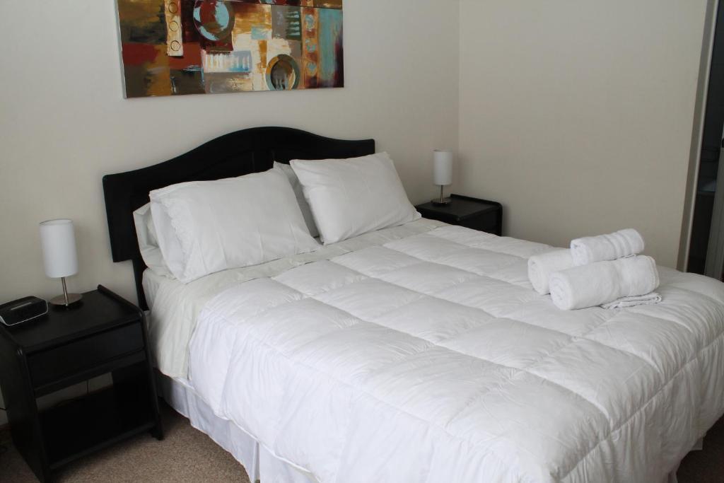Cama o camas de una habitación en Andes Apart Homes: Merlot