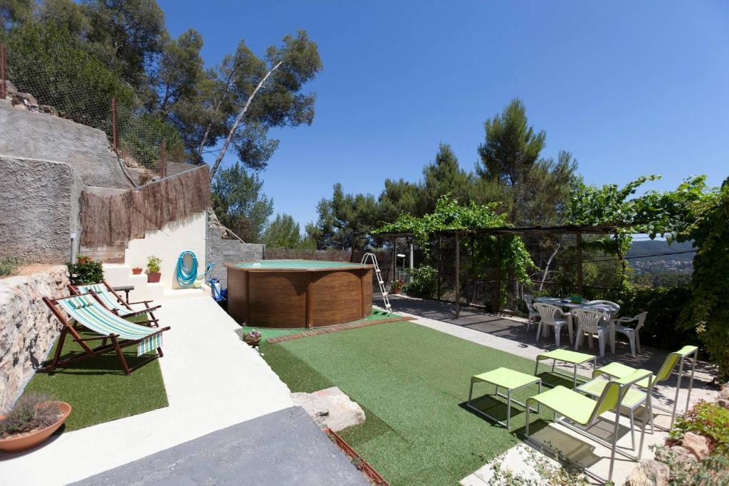 Casa de vacaciones Casa Amanecer (España Cervelló) - Booking.com