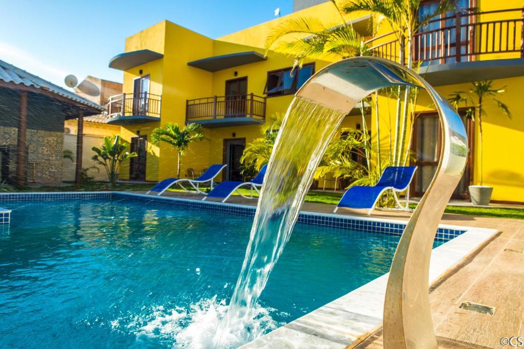 Parque aquático no apartamento ou nos arredores