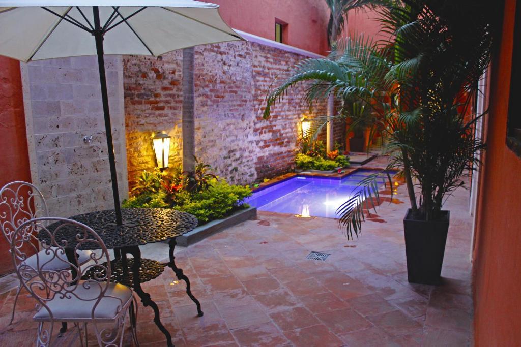 The swimming pool at or near Rua Hostels (Santa Marta)