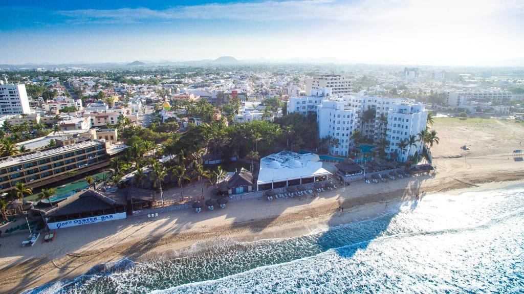 A bird's-eye view of Gaviana Resort